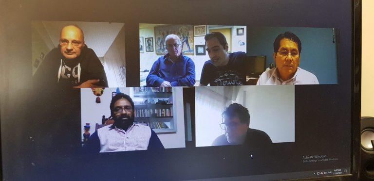 Online UITBB Secretariat Meeting on April 22