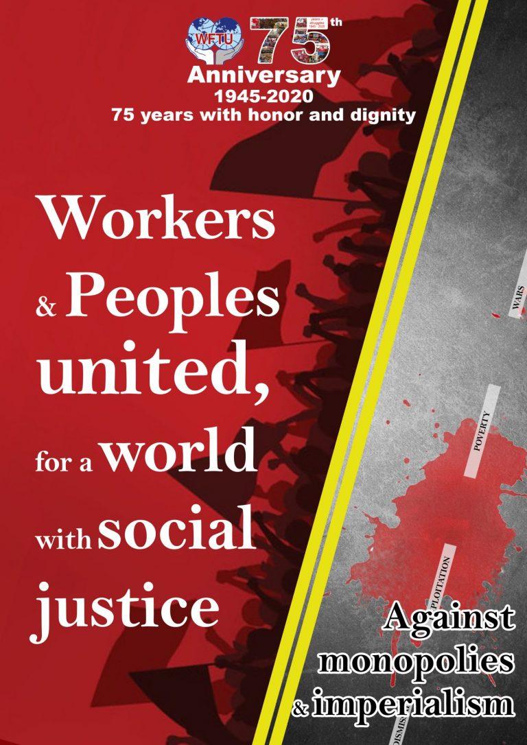 WFTU celebrates 75 years of struggles